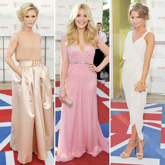 BAFTA TV Awards Red Carpet Fashion 2012