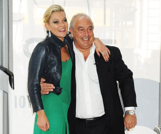 Photo of Kate Moss and Philip Green at the Topshop Opening in NYC