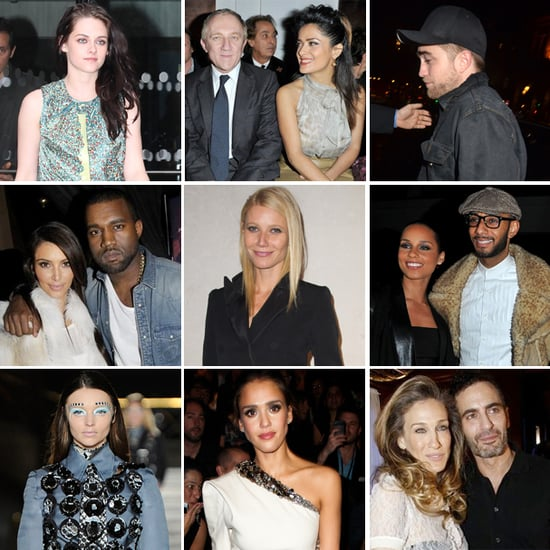 Celebrities at Paris Fashion Week Fall 2012 Pictures