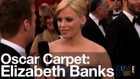 Elizabeth Banks in Ruffled Versace: 2010 Oscars