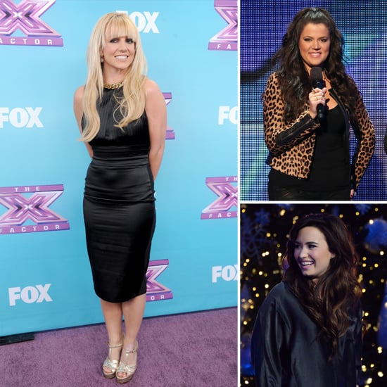 Britney Prepares For X Factor Finale With Her Protégée Carly