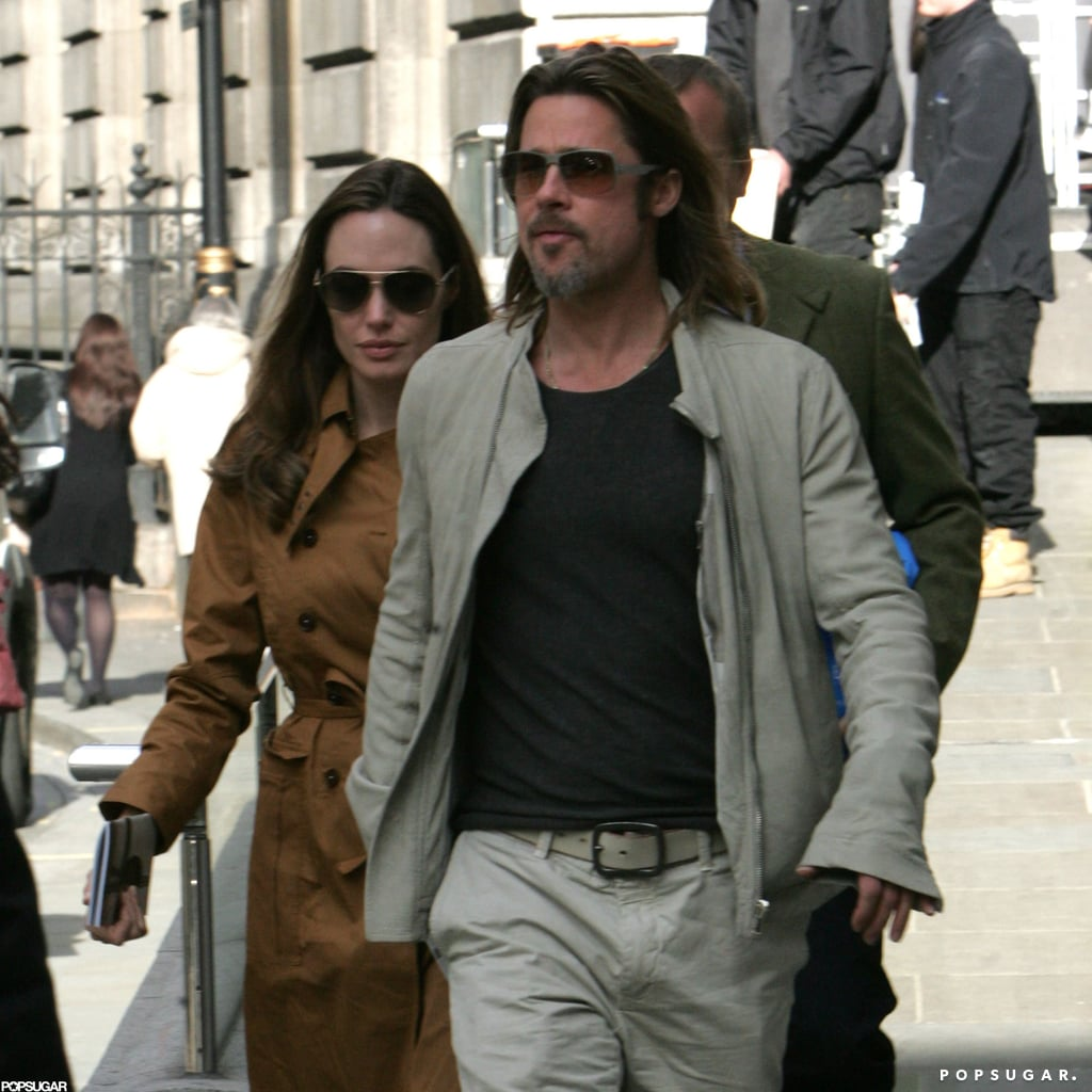 Angelina Jolie and Brad Pitt Couple Up For a Museum Date