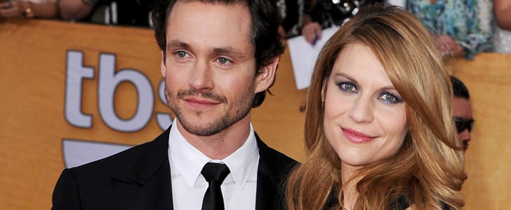 Claire Danes Makes Her Award Season Debut With Hugh By Her Side