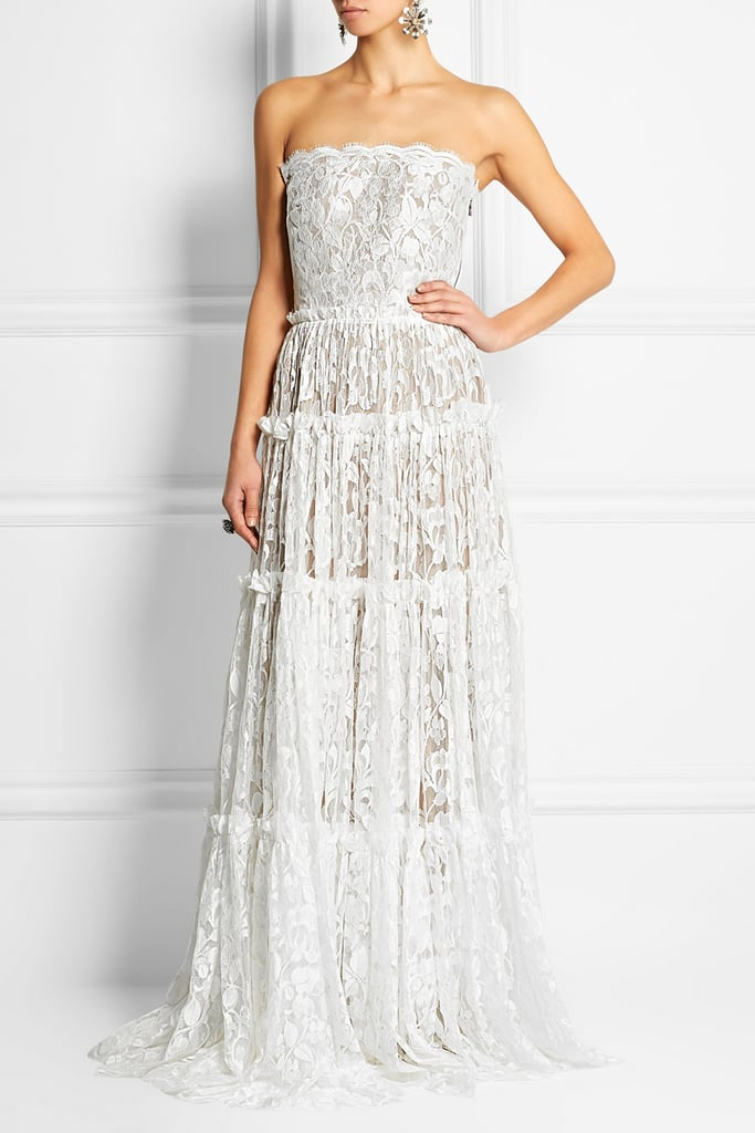 Lanvin Strapless tiered lace gown ($21,495)