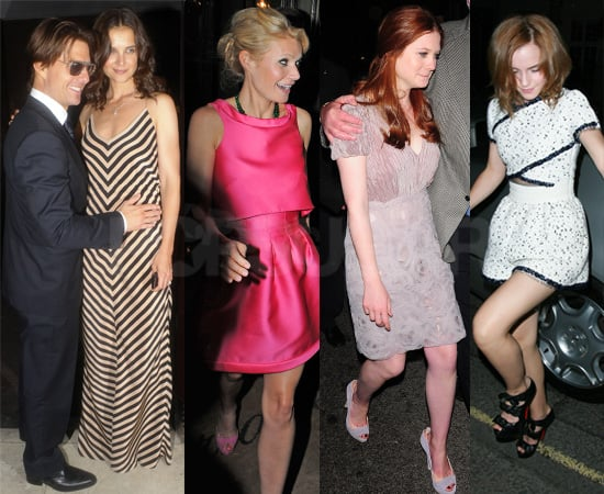 Pictures of Stars at Afterparty for National Movie Awards 2010 at Claridges