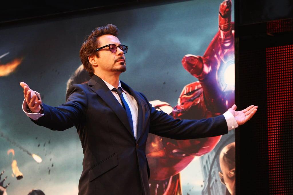 The Avengers Bring Their Superpowers to London