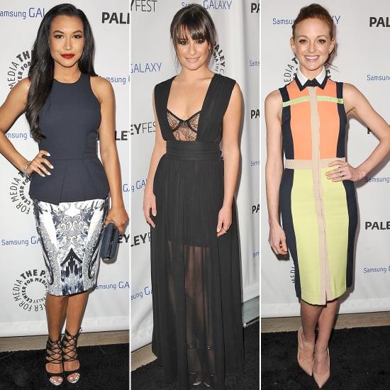 Glee Stars Lea Michele, Naya Rivera& Jayma May Style Poll