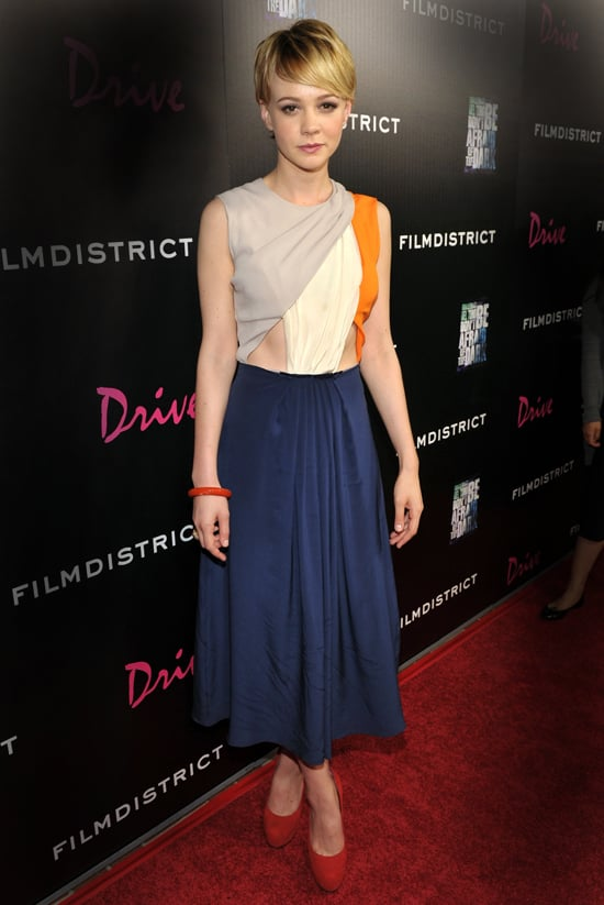 And Carey Mulligan turned heads when she popped up at Comic-Con last week in this Roksanda Ilincic Resort 2012 dress.  Continue to shop the trend.