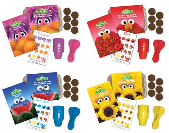 Sesame Street Gardening Kits for Kids