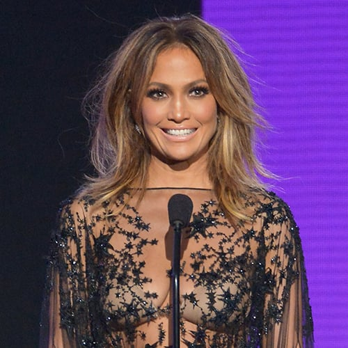 Jennifer Lopez's AMAs Hair and Makeup | 2015