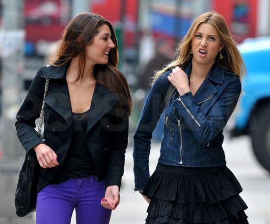 Photo of Whitney Port Filming The City in NYC