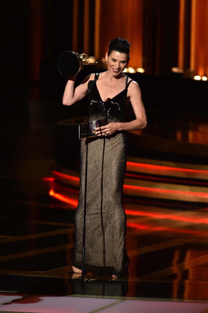 Julianna Margulies took to the stage to win her Emmy.