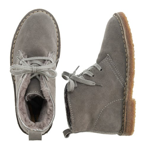 J.Crew Shearling MacAlister Boots