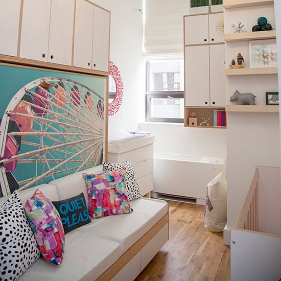 Colorful and Chic Nursery