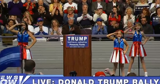 Hey Trump, You Know Who Else Held Rallies Where Kids Sang About Crushing Their Enemies?