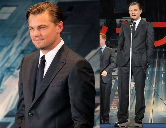 Pictures of Leonardo DiCaprio and Ken Watanabe at the Japan Premiere of Inception