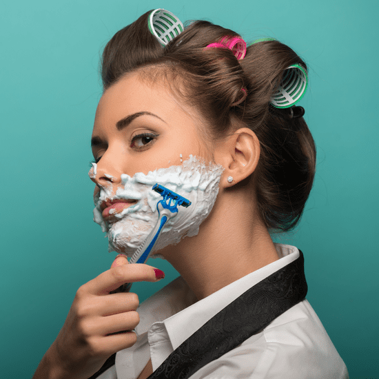 Is Shaving Your Face Bad?