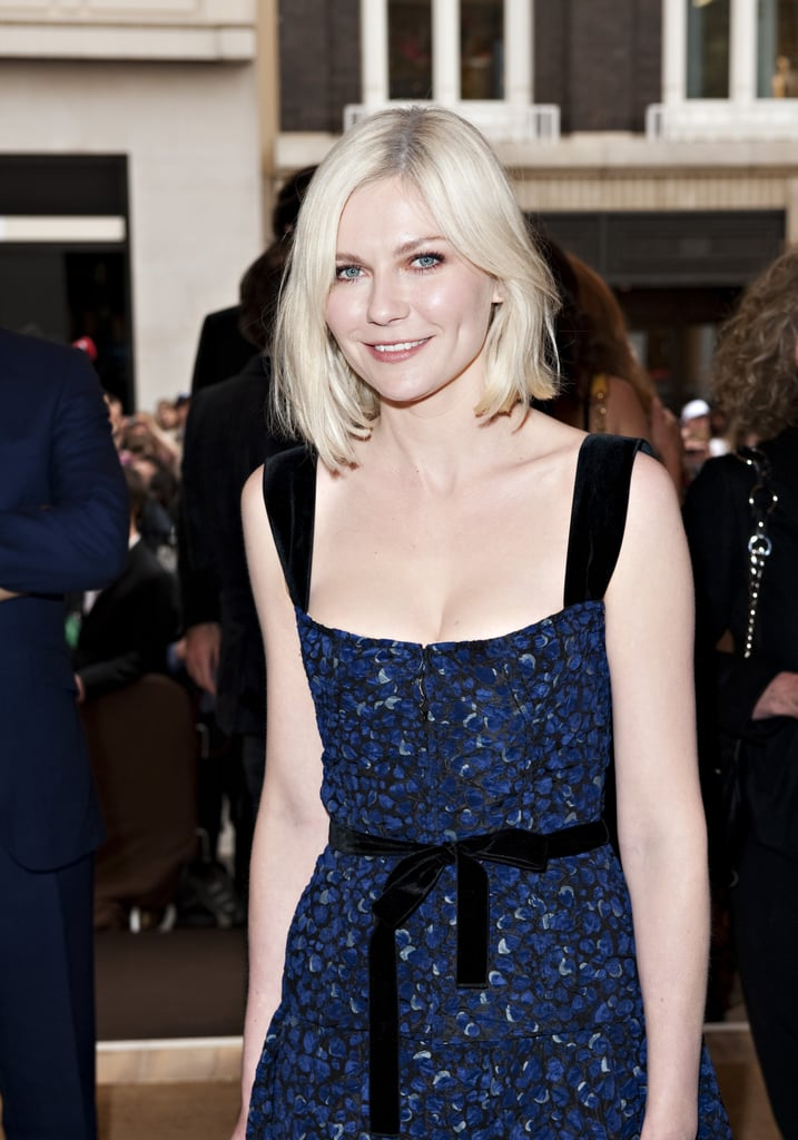 Kirsten went for a platinum blond hair color in 2010.