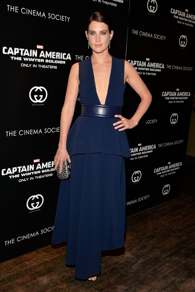 This Is What Cobie Smulders Was Doing the Night of the HIMYM Finale