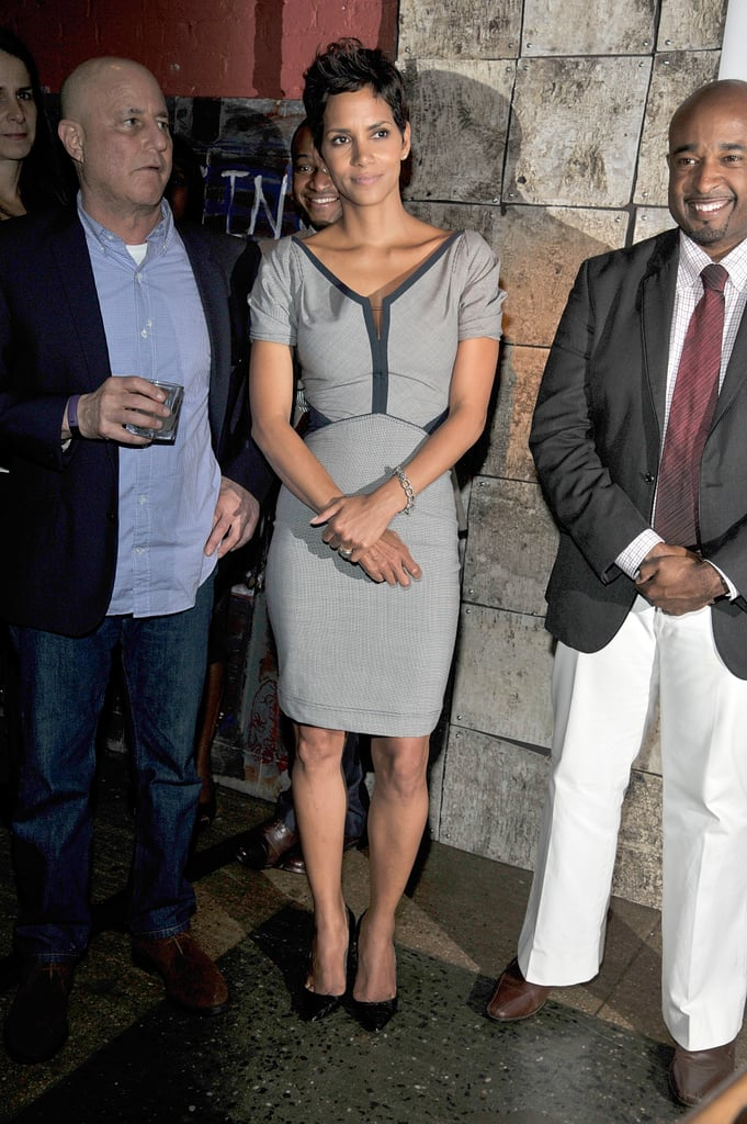 Halle Berry Hits NYC For a Political Night With Mayor Bloomberg