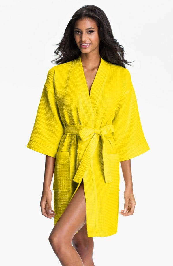 If your mom loves a pop of color — even when hanging around the house — then Nordstrom's Waffle Cotton Robe ($58) is a great gift for inducing spa-day vibes.
