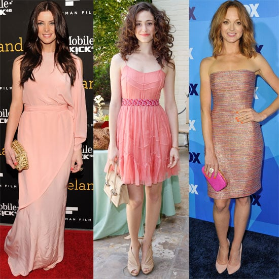 Celebrity Style Trend: Pink Dresses