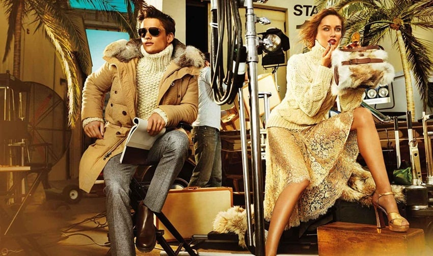 Everything seems to shimmer in Michael Kors's version of metropolitan living.