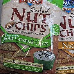 Food Review: Blue Diamond Baked Nut Chips