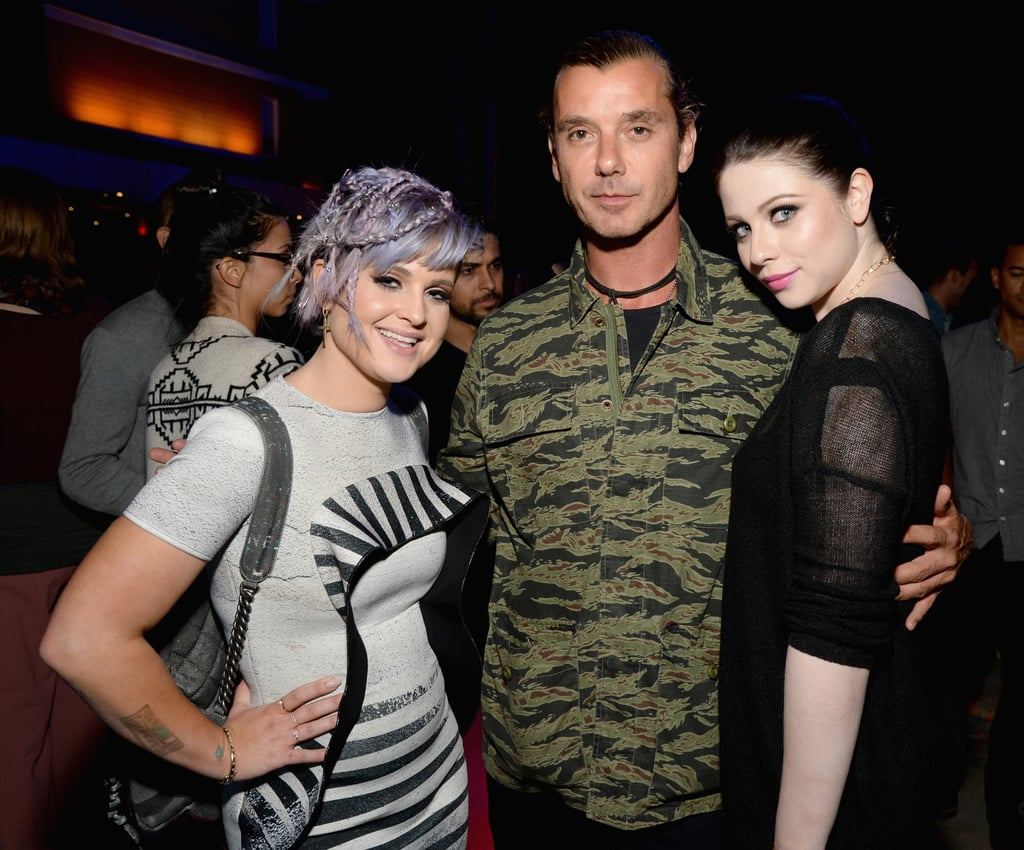 Kelly Osbourne, Gavin Rossdale, and Michelle Trachtenberg linked up at the annual production of The 24 Hour Plays in LA on Friday.