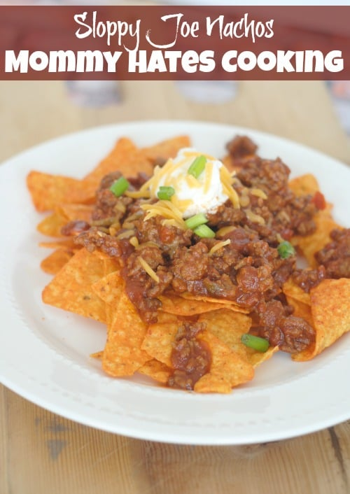 Sloppy Joe Nachos With Doritos