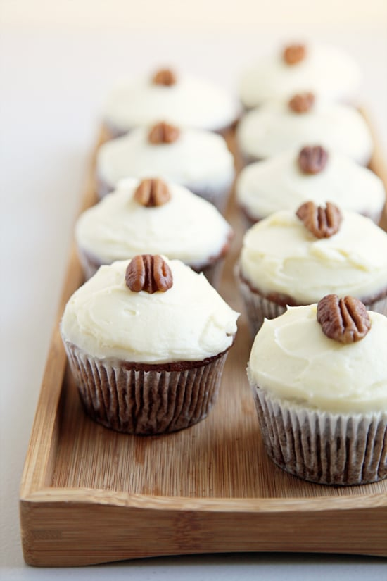 Carrot Cupcakes With Cream Cheese Frosting | 15 Unconventional Cupcake ...