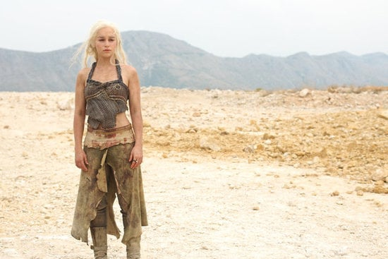 Though she's a natural dark brunette, Emilia's become famous as white-haired warrior princess Daenerys Targaryen in the cult hit show, which was based on the book series, A Song of Ice and Fire, by George R. R. Martin.