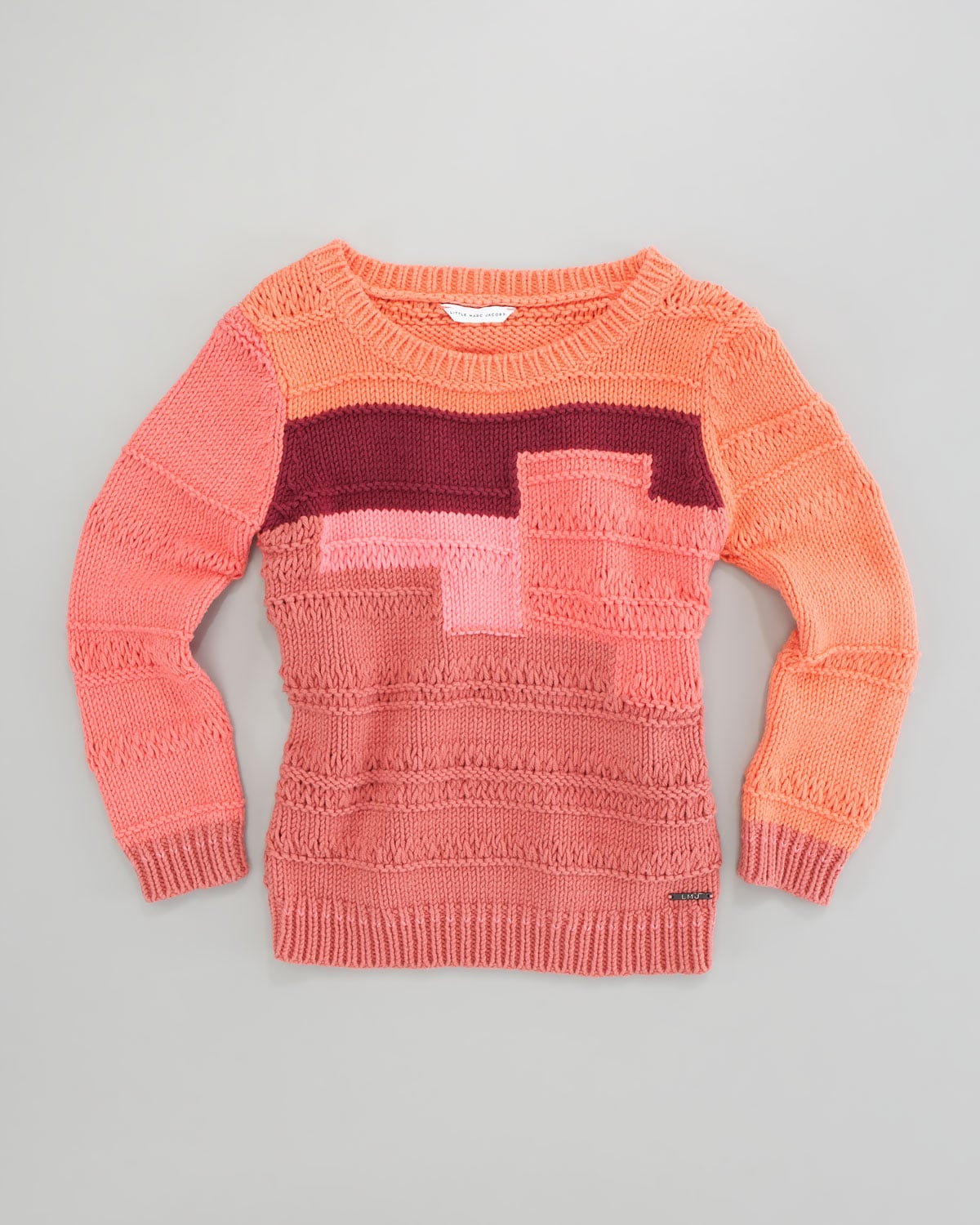 Little Marc Jacobs Colorblock Sweater ($121-$132)