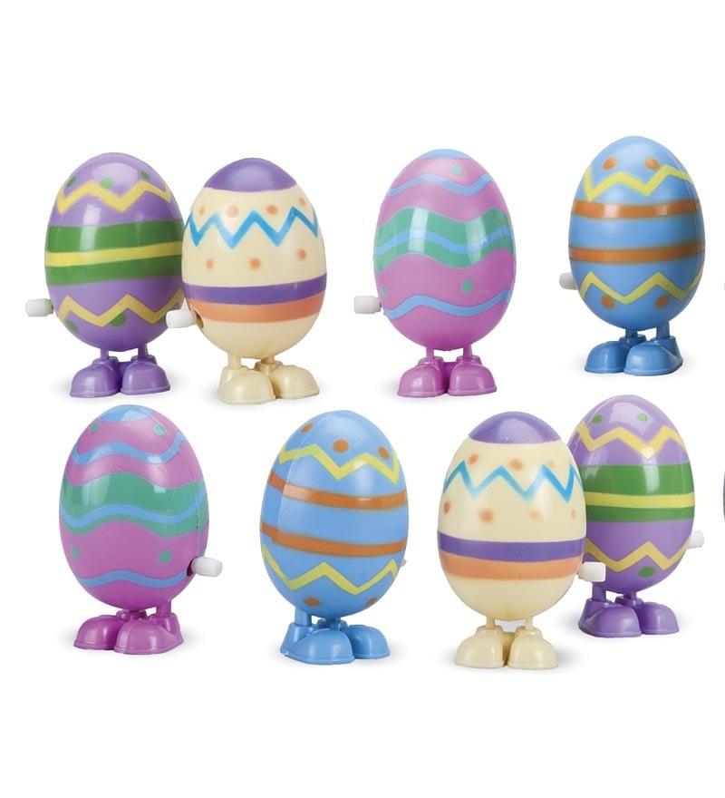 Easter Wind-Up Hopping Eggs