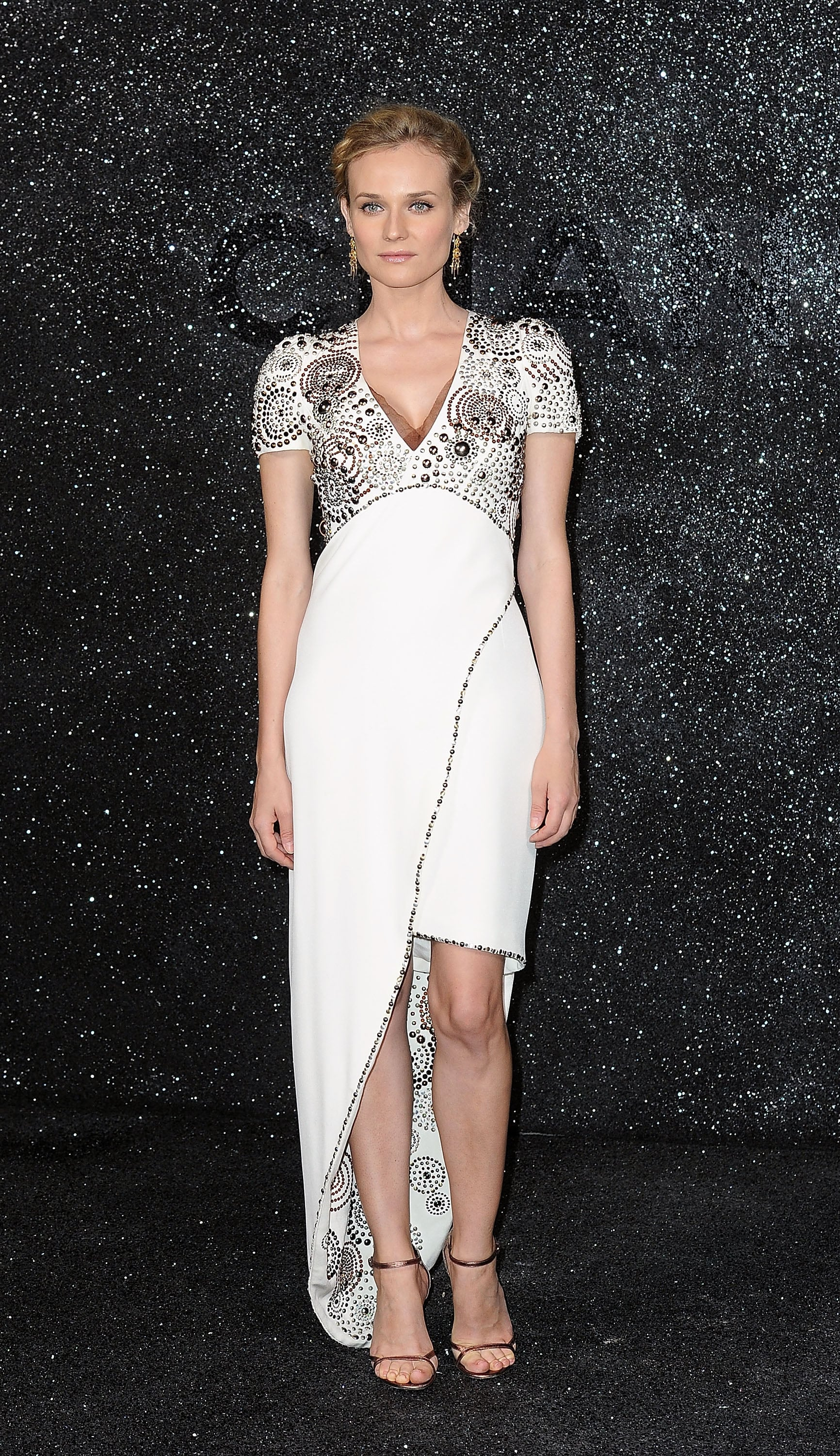 The actress dazzled in Chanel Couture at the design house's show during Paris Haute Couture Fashion Week in 2011.