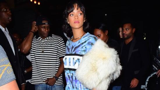 Rihanna Shows Up to Same Club as Leonardo DiCaprio and Model Nina Agdal