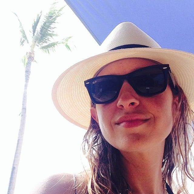 Jennifer Meyer shared a selfie after hitting the beach. Source: Instagram user jenmeyerjewelry