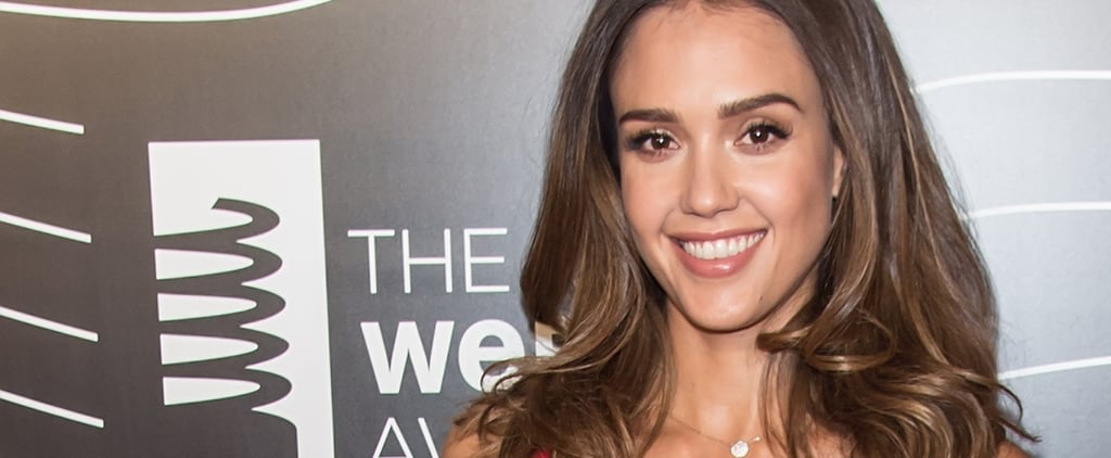 Jessica Alba Reveals the 1 Hairspray You Need For Beach Waves (P.S. — She Made This)