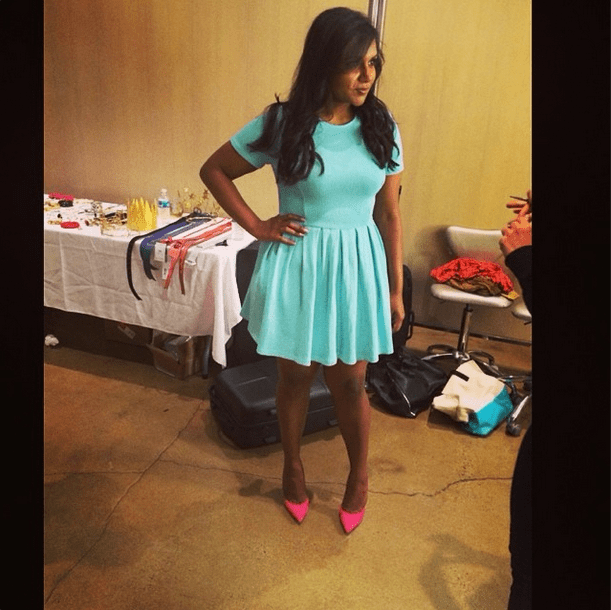 Mindy Kaling's Potential Book-Cover Outfit