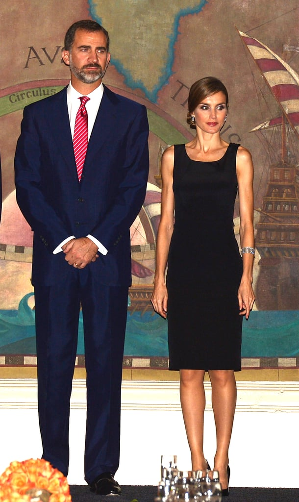 On Monday in Miami, the glamorous Spanish prince and princess attended a dinner to mark 500 years of Spanish influence in Florida sponsored by the Spain-Florida Foundation.