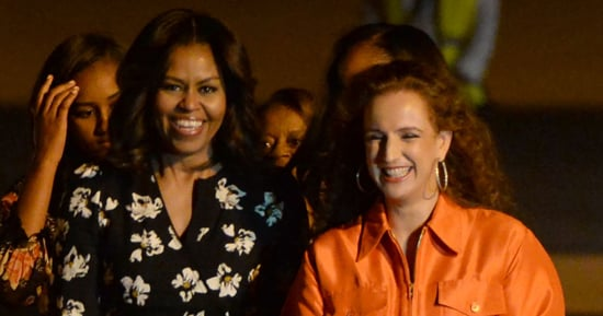 Michelle Obama Wore a Proenza Schouler Dress on the Plane to Morocco