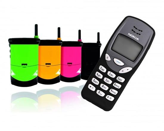 Photos of Lekki's Nokia 3210 and Motorola StarTAC