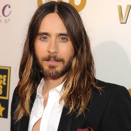Jared Leto Ombre Hair at Critics' Choice Awards 2014