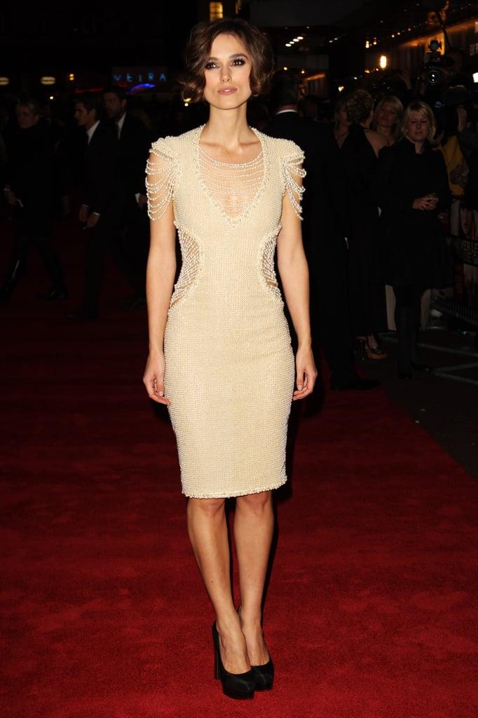 Keira Knightley at the 2010 London Film Festival
