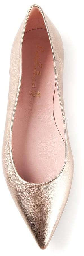Pretty Ballerinas Pointed-Toe Flats