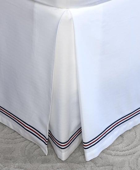 Herringbone Full Bed Skirt ($128)