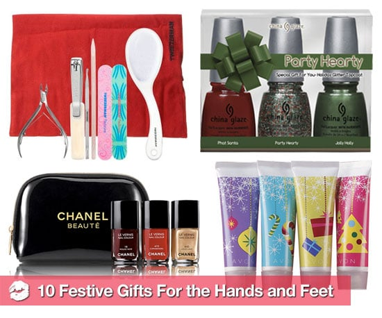 Manicure, Pedicure, and Nail Polish Gift Sets For Holiday 2010