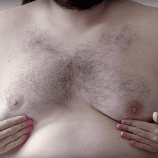 #ManBoobs4Boobs Breast Self-Exam Video