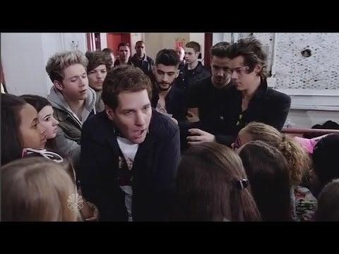 Paul Rudd Loves One Direction