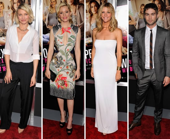 Cameron, Elizabeth, Chace and More Debut What to Expect When You're Expecting in NYC
